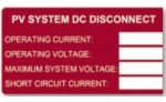 HELLERMANNTYTON PV SYSTEM DC DISCONNECT