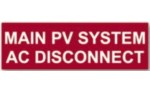 HELLERMANNTYTON MAIN PV SYSTEM AC DISCONNECT